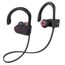 New Bluetooth 4.1 Headphone Earbuds Sweatproof Sports Wireless Secure In Ear