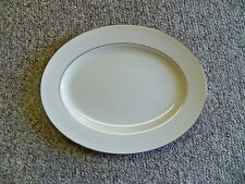 """LENOX COURTYARD GOLD OVAL PLATTER 13 3/8""""  EXCELLENT CONDITION AMERICAN HOME"""
