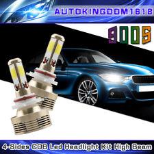 2x 120W COB 9005 LED headlight Kit 11000LM 6000K White Light HB3 H10 9140 9145