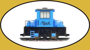Hartland G-Scale Mack Engine 09704 Blue