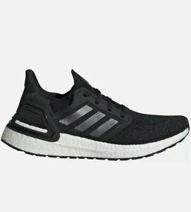 Adidas Women's Ultra Boost 20 Shoes- NIB Black - EG0714 Wmns sz 11.5 Mens 10.5