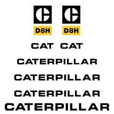 Decal Sticker Set CAT D8H Bulldozer Decal Set
