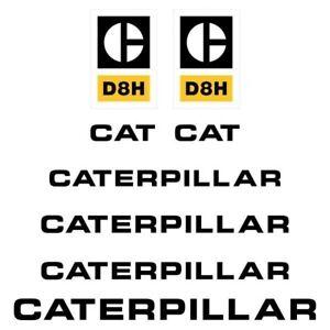 Decal Sticker Set CAT D8H Bulldozer Decal Set
