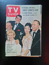 TV Guide Dec 14-20 1963 America's Television Magazine + Illustrated