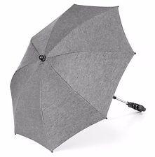Universal Sonnenschirm für Kinderwagen & Buggy / UV-Schutz 50+ / Melange Grey