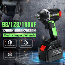 98VF 128VF 198VF Electric Cordless Impact Wrench Drill Tool w/ Li-Ion Battery #
