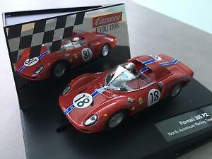 """Carrera Evolution 27536 Ferrari 365 P2 """"North American Racing Team , No.18"""" OVP"""