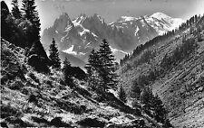BF30160 mont blanc en venant de suisse le col des mont france