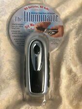 The Illuminator LED Wind-Up Dynamo Flashlight New Factory Sealed Blister Pack