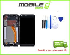 ECRAN LCD + VITRE TACTILE + CHASSIS FRAME pour HTC DESIRE 816 NOIR