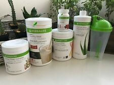 HERBALIFE FORMULA 1 SHAKE MIX PROTEIN-FIBER-ALOE-TEA Fast Shipping From US