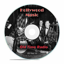 764 Vintage Hollywood Music Old TIme Radios Show, Country Jazz OTR mp3 DVD G39