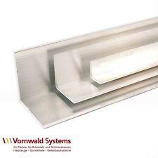 Alu Winkel-Profil gleichschenklig bis 2000 mm 2 m Kantenschutz Schiene Aluminium