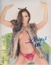 ABIGAIL MAC Adult Video Star SIGNED 8X10 Photo PROOF