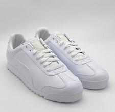 Puma Roma Basic - White Light Gray - Men's Shoes Size 12 - 353572