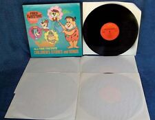 FRED FLINTSTONE - PRESENTS ALL TIME FAV. CHILDRENS STORIES & SONGS - 5 LP BOX