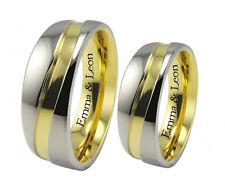 Schöne Ringe aus Titan Trauringe Partnerringe Eheringe & Gravur T11HH