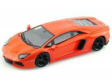 LAMBORGHINI AVENTADOR 1:32 Car model die cast models cars diecast orange