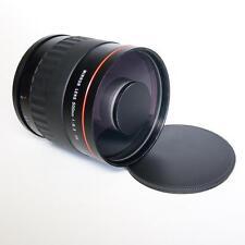 Kelda 500MM F/6.3 T2 lente espejo réflex Sony Alpha Montura Minolta T2 Inc