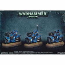 Games Workshop Warhammer 40k Space Marine Bike Squad Boxed Set