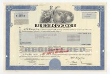 RJR Holdings Corp. Bond