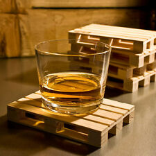 Wood Wooden Drink Coaster Tea Coffee Cup Mat Pads Tableware Decor Pallet Styled