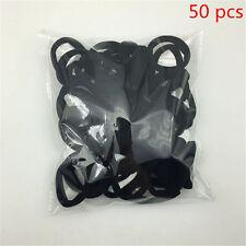 Lots 50Pcs Women Girl Hair Band Ties Elastic Rope Ring Hairband Ponytail Holder