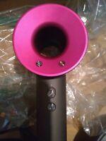 Dyson Hd01 Supersonic Hair Dryer Fuschia/Iron