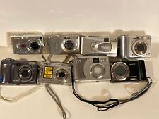 For Parts Or Repair Digital Cameras + Accessories Lot casio olympus canon sony