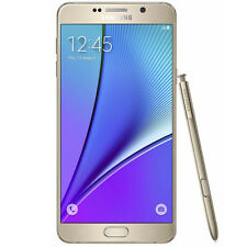 NEW SAMSUNG GALAXY NOTE 5 SM-N920A 32GB AT&T UNLOCKED GOLD SMARTPHONE