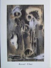 RAOUL UBAC  - Carton d invitation - 2000