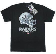 Raiders Medium T-Shirt Oakland NFL Football American Black Big Helmet