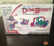 Laser Pegs Dune Buggy Kit - Build 9 Different Models - 31 pieces