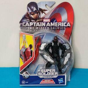 Marvel Captain America Winter Soldier Super Soldier Gear Rocket Storm Falcon NEW