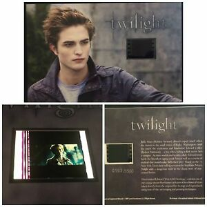 Twilight Robert Pattinson Limited Edition Film Cell #22 Numbered
