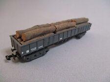 AF367 IBERTREN TRAIN TREN WAGON MARCHANDISE BOIS Echelle N 1/160