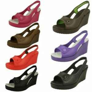 Ladies Crocs Havana Women Wedged Heels