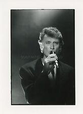 JOHNNY HALLYDAY 80s VINTAGE PHOTO ORIGINAL  #1