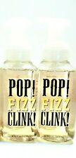 Bath Body Works SPARKLING ICICLES Foaming Hand Soap, POP, CLINK, FIZZ, NEW, x 2