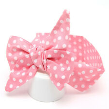 Headband Kids Girl Toddler Baby Bow Flower Hair Band Accessories Headwear Pink