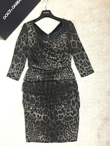 Stunning £ 1850 Dolce & Gabbana dress IT size 46/INT XL/UK 14/US 10 new unworn