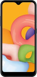 Samsung Galaxy A01 SM-A015A - 16GB - Black Unlocked AT&T T-Mobile Cricket H20