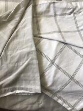 Single Duvet Set By Tesco In Grey White Reversible Pattern