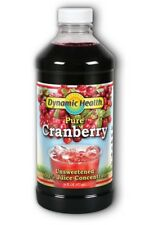Dynamic Health Pure Cranberry Concentrate 473ml - BUY 3 GET 1 FREE!