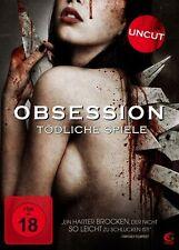 Obsession - Tödliche Spiele - uncut  FSK 18 DVD NEU