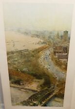 """CHEN CHI """"SHANGHAI"""" LIMITED EDITION HAND SIGNED IN PENCIL LITHOGRAPH"""