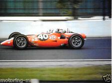 PARNELLI JONES STP TURBINE CAR INDY INDIANAPOLIS 500 1967 PHOTOGRAPH RARE