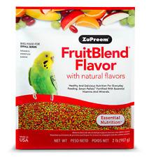 ZuPreem Fruit Blend 2 lb small bird food  Parakeets,Budgies, Bulbuls. (07/31/20)