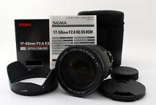 Sigma Ex 17-50mm F/2.8 OS HSM Dc Lentille pour Nikon Avec / Boîte [ EXC Japon