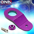 For Ek Dc S2k Purple Cnc Aluminum Radiator Stay Mount Bracket Tap+fender Washer photo